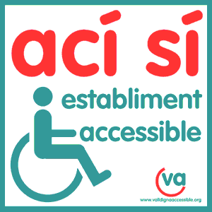 Logo establiment accessible