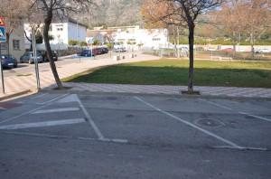 Proposta de nova ubicació del gual per a usuaris amb mobilitat reduïda